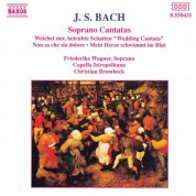 Friederike Wagner: Bach, J.S.: Soprano Cantatas, Bwv 199, 202 and 209 - CD