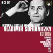 Vladimir Sofronitzky: Historical Russian Archives - Vladimir Sofronitzky - CD