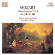 Mozart: Violin Sonatas, Vol. 4 - CD