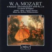 Blaser der Berliner Philharmoniker: Mozart: 6 Notturni, Le Nozze Di Figaro - Plak