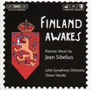 Lahti Symphony Orchestra, Osmo Vänskä, Helsinki University Chorus: Sibelius: Finland Awakes - Patriotic Music - CD
