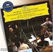 Berliner Philharmoniker, Herbert von Karajan, Mstislav Rostropovich: Dvořák/ Tchaikovsky: Cello Concerto - CD