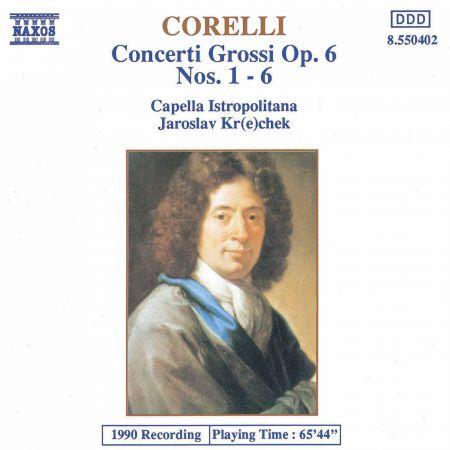 Jaroslav Krecek: Corelli: Concerti Grossi, Op. 6, Nos. 1-6 - CD