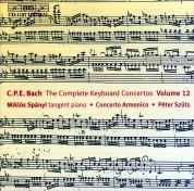 Miklós Spányi, Concerto Armonico, Péter Szűts: C.P.E. Bach: Keyboard Concertos, Vol. 12 - CD