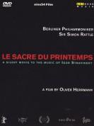 Ariadna del Carmen, Sophie Semin, Robert Hunger-Bühler, Berliner Philharmoniker, Sir Simon Rattle: Stravinsky: Le sacre du Printemps - DVD