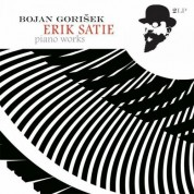 Bojan Gorisek: Satie: Piano Works - Plak