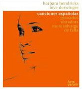 Barbara Hendricks, Love Derwinger: Canciones Espanolas -  Spanish Songs - CD
