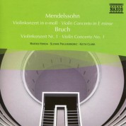 Mariko Honda: Mendelssohn: Violin Concerto in E Minor / Bruch: Violin Concerto No. 1 - CD