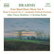 Christian Kohn, Silke-Thora Matthies: Brahms: Four-Hand Piano Music, Vol.  9 - CD