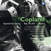 Eduardo Mata, Leonard Slatkin, Enrique Bátiz Campbell: Copland: Appalachian Spring, Billy The Kid, Rodeo - CD