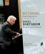Staatskapelle Berlin, Daniel Barenboim: Beethoven: Piano Concertos 1-5 - BluRay