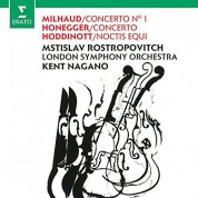 Mstislav Rostropovich, Kent Nagano, London Symphony Orchestra: Milhaud / Honegger: Cello Concerto No - CD