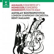 Mstislav Rostropovich, Kent Nagano, London Symphony Orchestra: Milhaud / Honegger: Cello Concerto No - CD