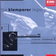 Philharmonia Orchestra, Otto Klemperer: Haydn: Symphony No.98/ Tchaikovsky: Symphony No.5 - CD