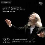 Bach Collegium Japan, Masaaki Suzuki: J.S. Bach: Cantatas, Vol. 32 - SACD