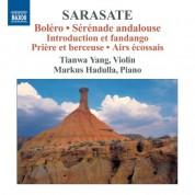 Tianwa Yang: Sarasate: Violin and Piano Music, Vol. 3 - CD