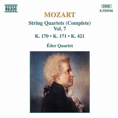 Mozart: String Quartets, K. 170-171 and K. 421 - CD