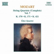 Mozart: String Quartets, K. 170-171 and K. 421 - CD