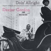 Dexter Gordon: Doin' Allright - Plak