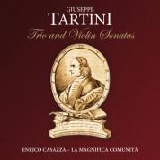 La Magnifica Comunità, Enrico Casazza, Isabella Longo, Marcello Scandelli, Giorgio Cerasoli, Roberto Loreggian: Tartini: Trio & Violin Sonates - CD