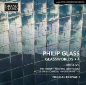 Nicolas Horvath: Glass: Glassworlds 4 - CD