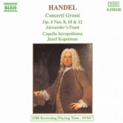 Handel: Concerti Grossi Op. 6, Nos. 8, 10 and 12 - CD