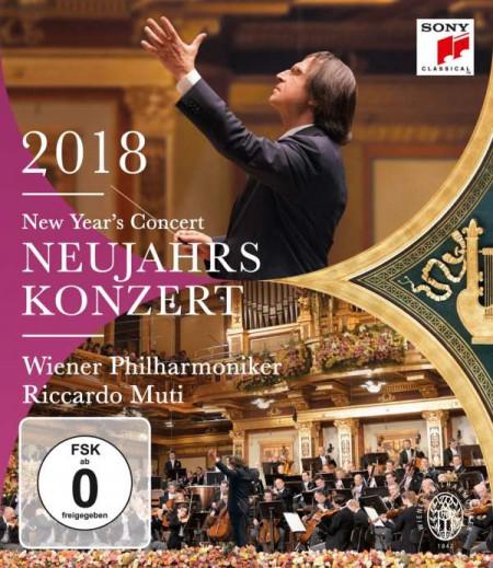 Riccardo Muti, Wiener Philharmoniker: New Year's Concert 2018 - BluRay