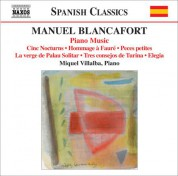 Miquel Villalba: Blancafort, M.: Piano Music, Vol. 5 - CD