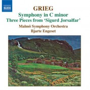 Bjarte Engeset: Grieg: Orchestral Music, Vol. 3: Symphony in C Minor - Old Norwegian Romance With Variations - CD