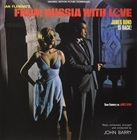 John Barry: James Bond: From Russia With Love - Plak