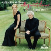 Magdalena Kožená, Orchestra of the Age of Enlightenment, Simon Rattle: Mozart: Arias - CD