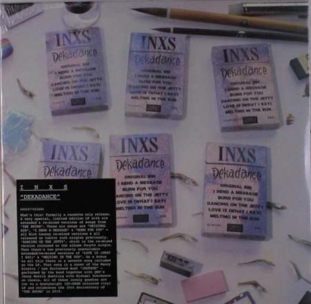 Inxs: Dekadance (Limited Edition - Red Vinyl) - Plak