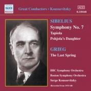 Sibelius: Symphony No. 7 / Tapiola (Koussevitzky) (1933-1940) - CD