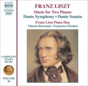 Franz Liszt Piano Duo: Liszt: Dante Symphony / Dante Sonata (Arr. for 2 Pianos) - CD