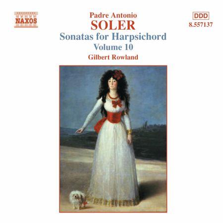 Soler, A.: Sonatas for Harpsichord, Vol. 10 - CD