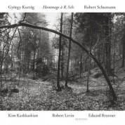 Kim Kashkashian, Robert Levin, Eduard Brunner: György Kurtag / Robert Schumann: Hommage a R. Sch. - CD