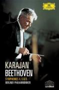 Berliner Philharmoniker, Herbert von Karajan: Beethoven: Symphonien 4-6 - DVD
