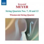 Wieniawski String Quartet: Meyer: String Quartets Nos. 7, 10 & 13 - CD