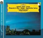 Leonard Bernstein, Los Angeles Philharmonic: Gershwin/ Copland/ Barber: Rhapsody in Blue/ Appalachian Spring/ Adagio - CD