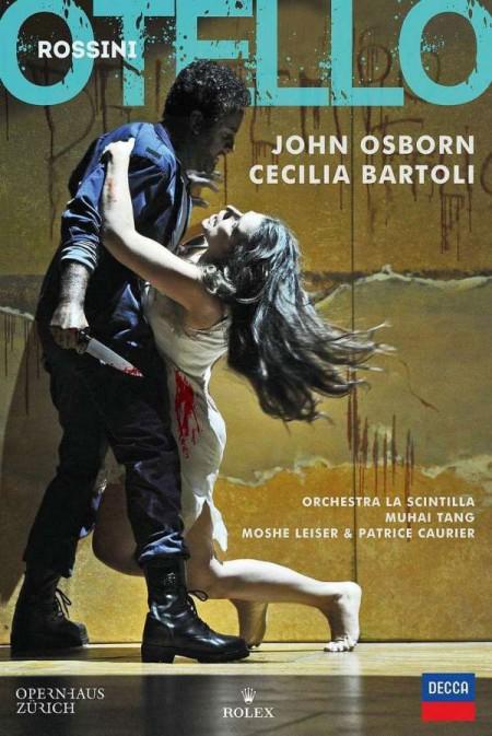 Cecilia Bartoli, John Osborn, Moshe Leiser, Muhai Tang, Orchestra La Scintilla, Patrice Caurier: Rossini: Otello - DVD
