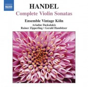 Ensemble Vintage Koln: Handel: Complete Violin Sonatas - CD