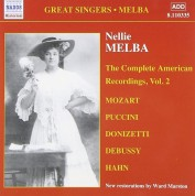 Nellie Melba: The Complete American Recordings, Vol. 2 - CD