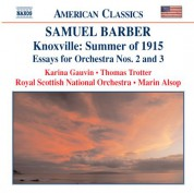Barber: Knoxville: Summer of 1915 / Essays for Orchestra Nos. 2 and 3 - CD