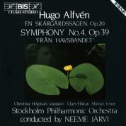 Christina Högman, Claes-Håkan Ahnsjö, Stockholm Philharmonic Orchestra, Neeme Järvi: Alfvén: Symphony No.4 - CD
