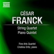 Fine Arts Quartet: Franck, C.: String Quartet in D Major / Piano Quintet in F Minor - CD