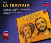 Luciano Pavarotti, Dame Joan Sutherland, Richard Bonynge, National Symphony Orchestra, Choir of London: Verdi: La Traviata - CD