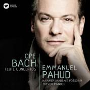 Emmanuel Pahud: Bach: Flute Concertos - CD