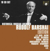 Rudolf Barshai: Historical Russian Archives - Rudolf Barschai - CD