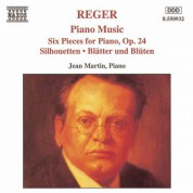 Reger: Six Piano Pieces / Silhouetten / Blatter Und Bluten - CD