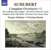 Christian Benda: Schubert, F.: Overtures (Complete), Vol. 1 - CD